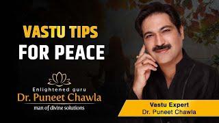 Vastu Tips for Peace | Vastu Tips by Enlightened Life Guru Dr. Puneet Chawla