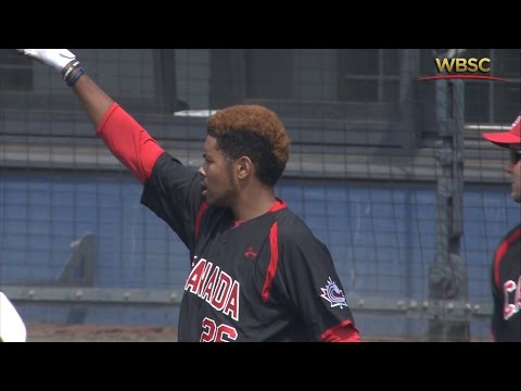 Highlights: Canada v Australia - U-18 Baseball World Cup 2015
