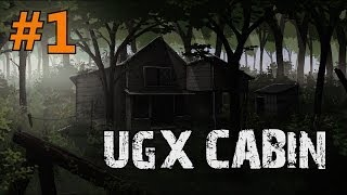 Custom Zombies - UGX Cabin | An Awesome Yet Difficult Map (Part 1)