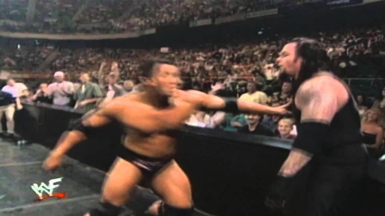 Undertaker Vs Rock King Of The Ring