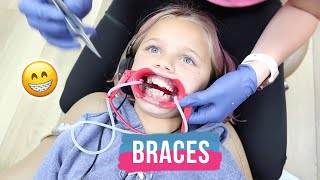 Perri Gets Braces on Top and Bottom Teeth | The LeRoys