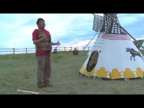 Tipi Camping Experience: Head-Smashed-In Buffalo Jump - Alberta, Canada
