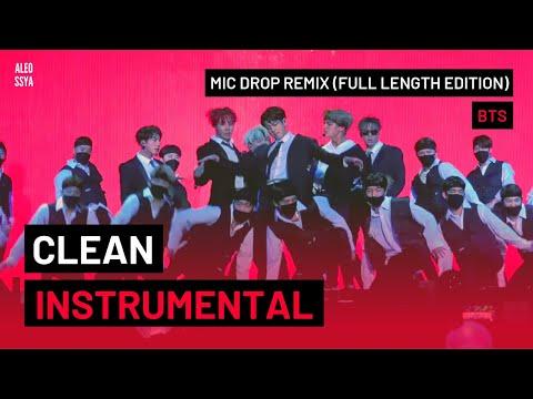 [INSTRUMENTAL] BTS (방탄소년단) - MIC Drop (Steve Aoki Remix)  [Full Length Edition]