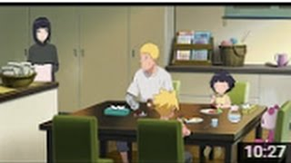 The Day Naruto Became Hokage English Dub   Naruto and Hinata Family
