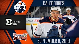 Caleb Jones | 2G 2A vs MacEwan Nait | Sep. 11, 2018