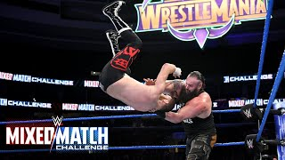 Sami Zayn attempts a sneak attack on Braun Strowman and pays the price on WWE Mixed Match Challenge