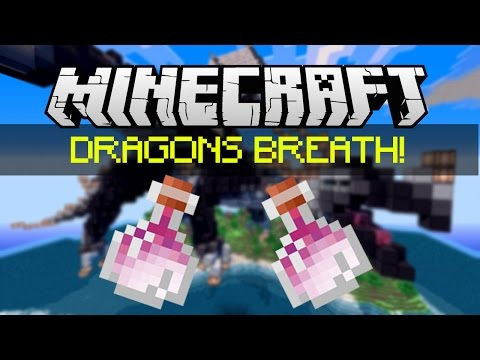 Minecraft Dragons Breath Lingering Potions Tutorial