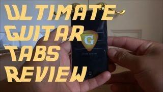 App Review: Ultimate Guitar Tabs