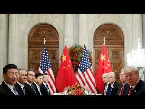 EUA e China declaram tréguas provisórias