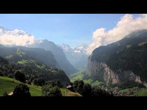 A Grand Tour of Switzerland, by train
