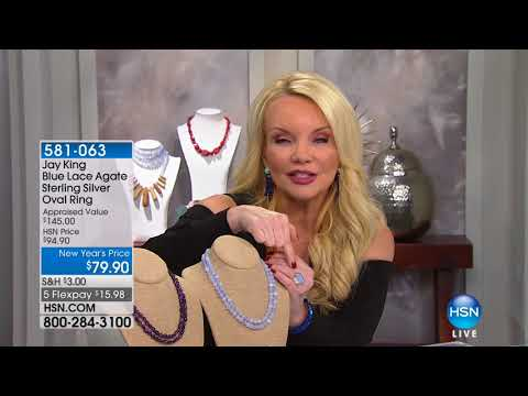 HSN   Mine Finds By Jay King Jewelry Year End Specials 12.28.2017 - 09 PM