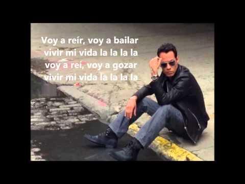 Marc Anthony-Vivir mi Vida lyrics