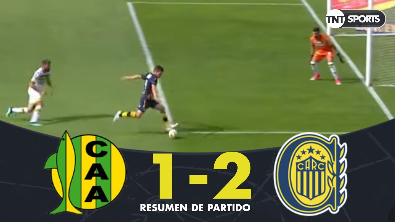 Resumen de Aldosivi vs Rosario Central (1-2)   Primera Rueda (vuelta) - Copa Superliga 2019
