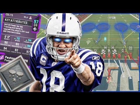 Peyton Manning Can LITERALLY See Your Play On Defense In Madden 20 Ultimate Team...