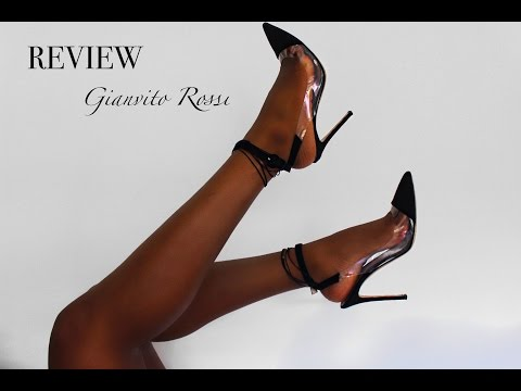 b7e9d6cad Review | Gianvito Rossi 'Plexi' Suede Ankle Strap Pumps - YouTube