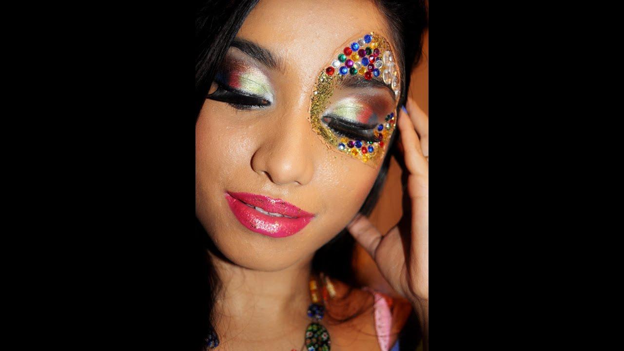 Youtube Makeup Tutorials Popular: **Carnival** A Creative Makeup Tutorial..
