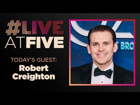Broadway.com #LiveatFive with Robert Creighton of FROZEN