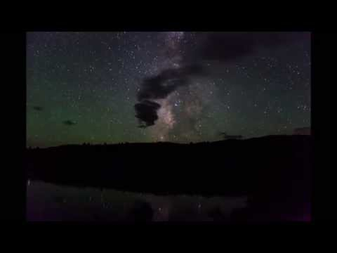 Milky way timelapse from Lake Monument, Colorado