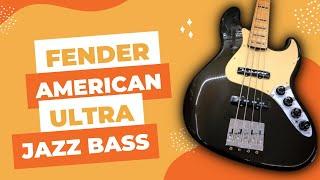 Fender American Ultra Jazz Bass   Igor Odaryuk Review