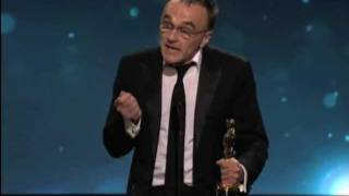 Danny Boyle ‪winning the Oscar® for Directing