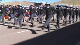JOCAMA (Ex Colegio Nacional Mixto de Santa Lucía) desfile - 2012