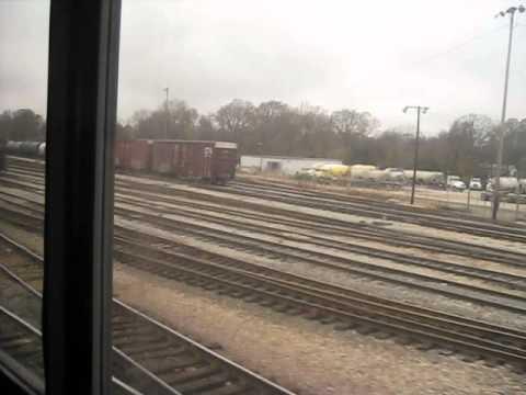 Amtrak 59 Arriving In Jackson MS
