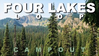 Four Lakes Loop Campout - Lolo National Forest, Montana