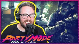 Greg Miller Terrorizes the Terrorists in Rainbow Six Siege - Party Mode