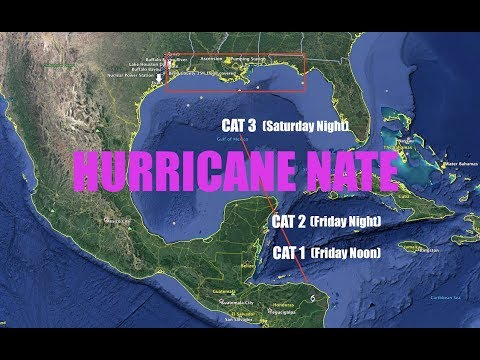 """""""Brown Ocean Effect"""" to make Nate a CAT 3 Hurricane - Gulf of Mexico"""