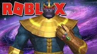 Roblox-BUILDING factory of THANOS (Super Hero Tycoon)