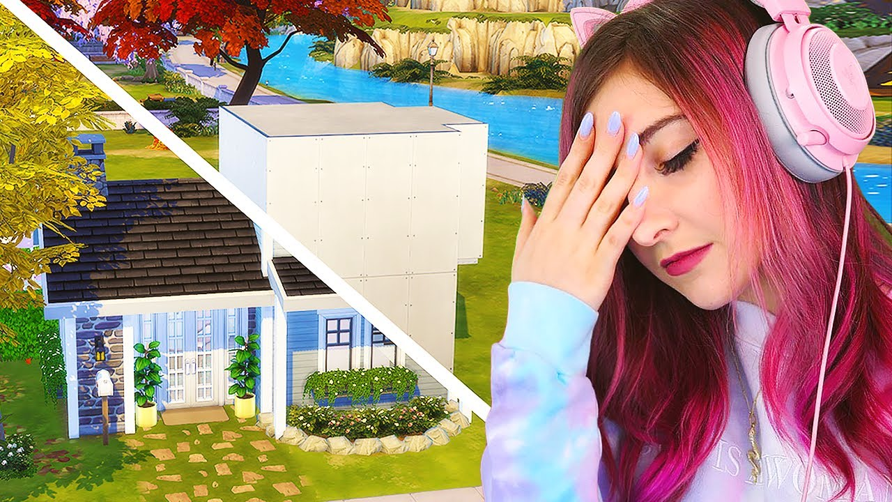 I Tried Lilsimsie's Shell Challenge...I almost quit The Sims 4 thumbnail
