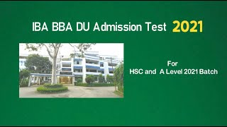 IBA BBA Special Batch for HSC/A-Level 2021
