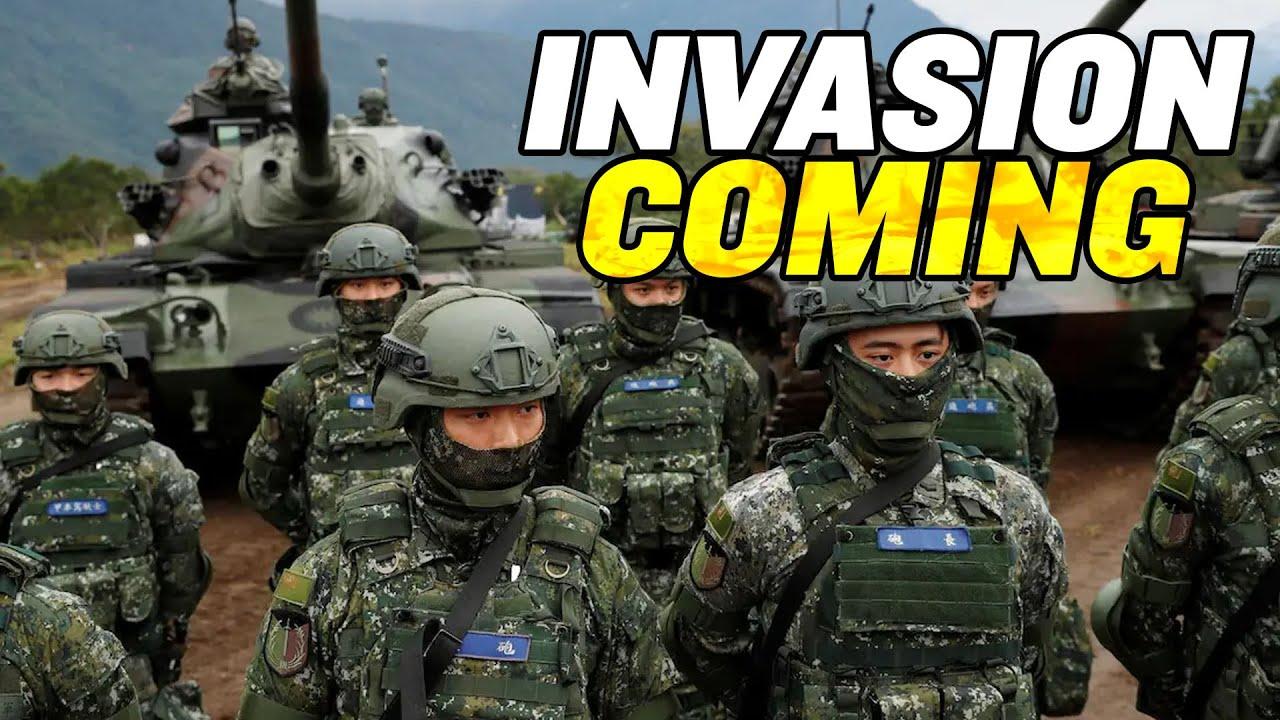 China's Taiwan INVASION Getting Closer