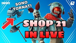 SHOP 21 JENNAIO IN LIVE - WE'ReINTED LO SHOP INSIEME - Auditions for the new team ( FORTNITE )
