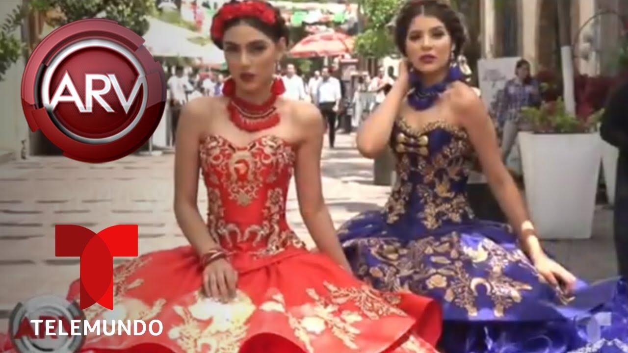 Vestidos De Charro La Tendencia En Las Quinceañeras Al Rojo Vivo Telemundo