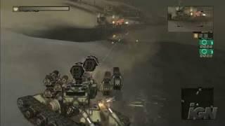 Chromehounds Xbox 360 Gameplay - Bullet Rain
