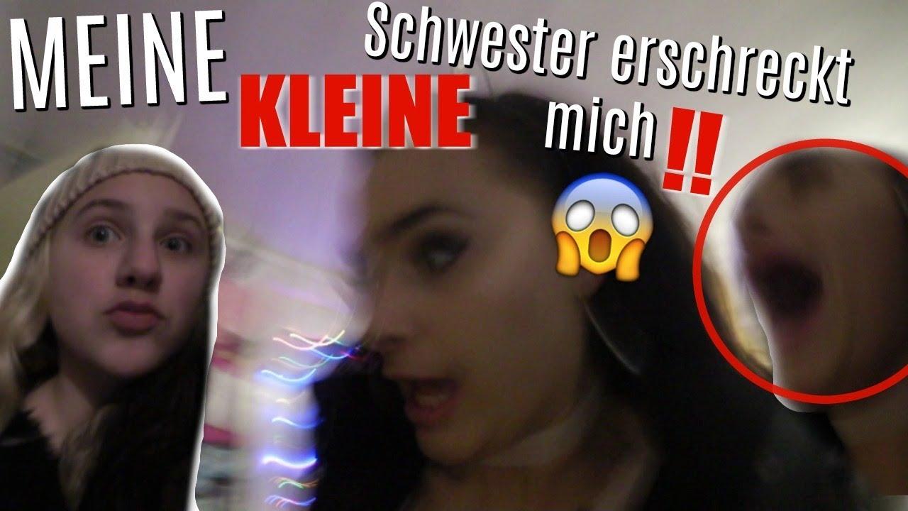 Meine Schwester erschreckt mich! -Vlog- 01.12.2017
