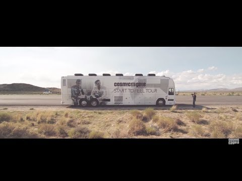 Cosmic Gate - Start To Feel US Bus Tour 2014 after movie