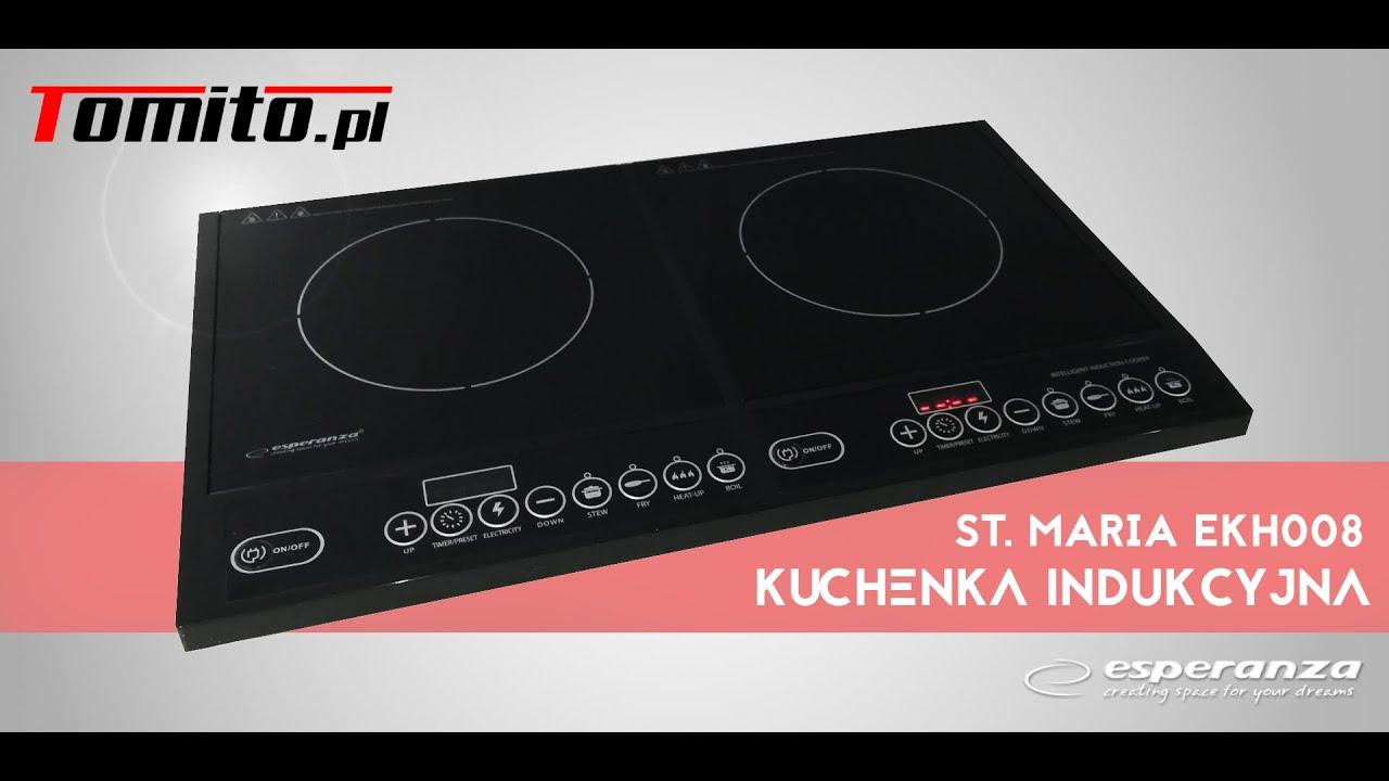 Kuchenka Elektryczna Indukcyjna St Maria Esperanza 2x2000w Youtube