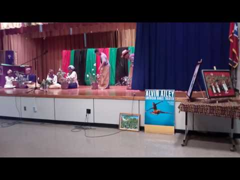 1st part of Balmoral Ridgeway Elementary Black History Program