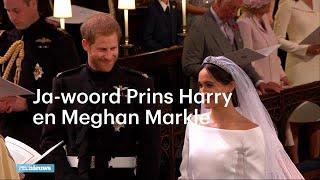 Prins Harry en Meghan Markle zeggen JA! - RTL NIEUWS