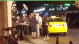 Бурак Озчивит и Неслихан Атагюль за кадром 44 серия черная любовь Kara sevda