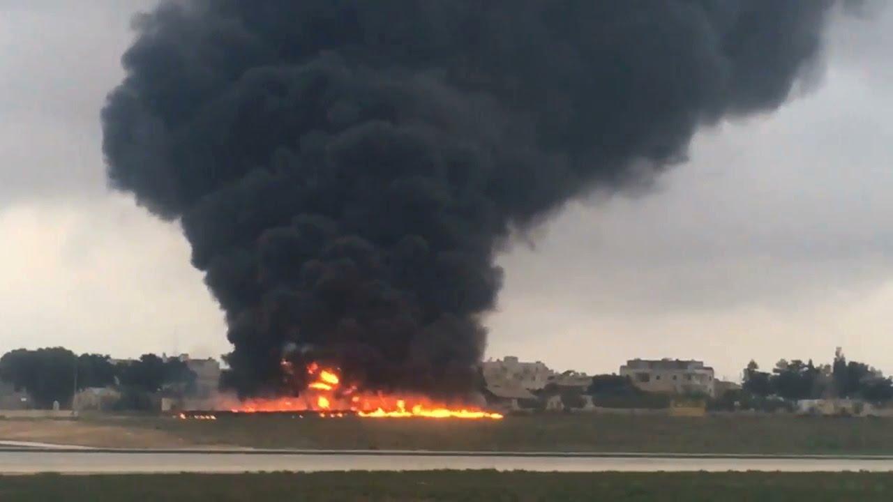 Flugzeugabsturz Malta