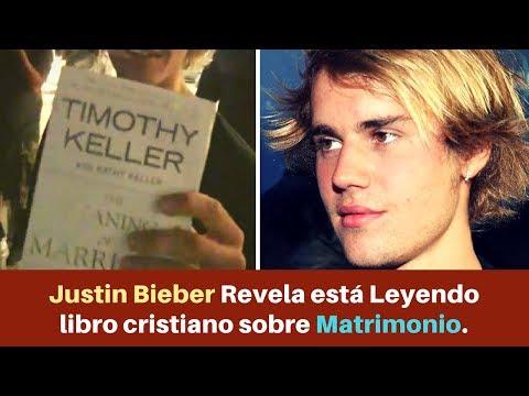 Justin Bieber Revela está Leyendo Libro Cristiano sobre Matrimonio. ¡Mira de qué trata!