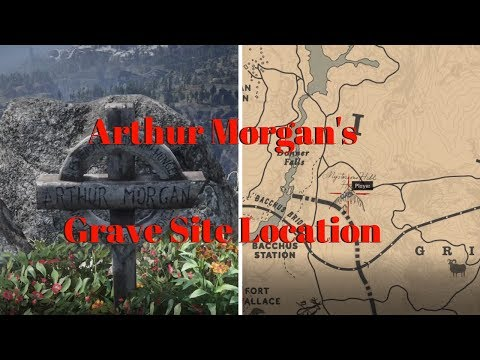 RED DEAD REDEMPTION 2 - ARTHUR MORGAN'S GRAVE SITE LOCATION