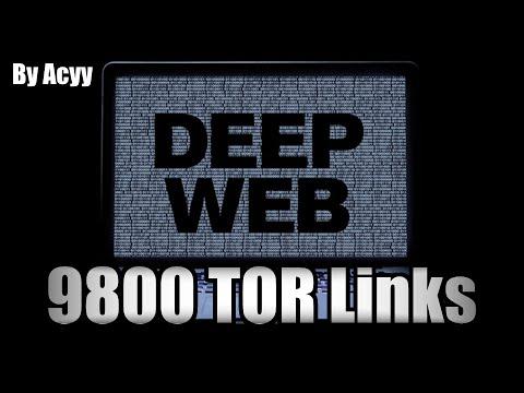 Deep Web - 9800 TOR/Onion Links (2016)