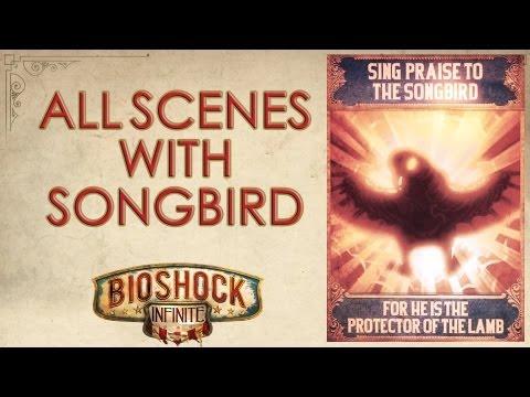 BioShock Infinite: All scenes with the Songbird  