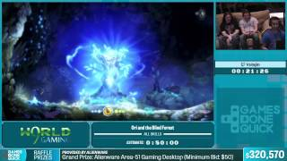 Ori and the Blind Forest by Vulajin in 44:05 - Summer Games Done Quick 2015 - Part 60