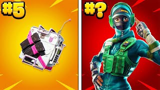 10 Fortnite Items Tryhards Don't Remember!