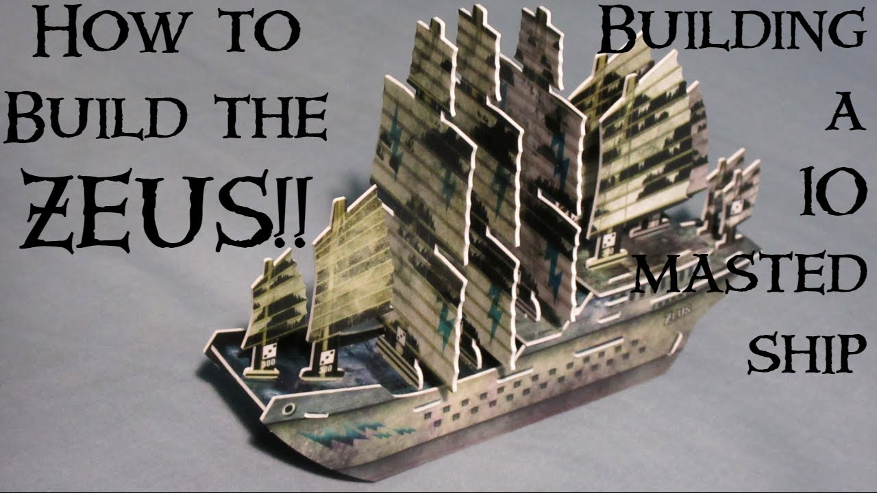 Building the Zeus!  How to Build a 10 Masted Ship | THE ZEUS IS LOOSE!!!!